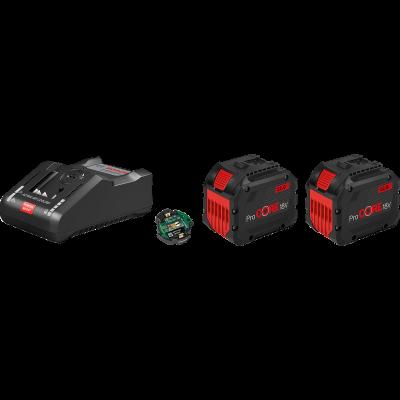 Bosch Startsett 2 stk. ProCORE18V 12.0Ah + GAL 18V-160 C verktøy.no