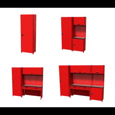 Teng Tools verktøyoppbevaring hyllesystem S-M-L-XL