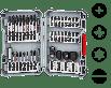 BOSCH Pick and Click Impact Control sett med skrutrekkerbits, 36 deler