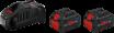 Bosch Startsett Startsett 2 stk. ProCORE18V 8.0Ah + 1 stk. GAL 1880 CV