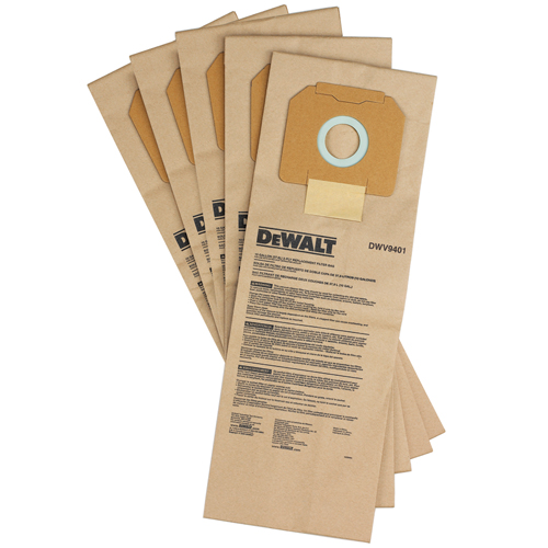 DeWalt Støvpose papir DWV902 5 Pk
