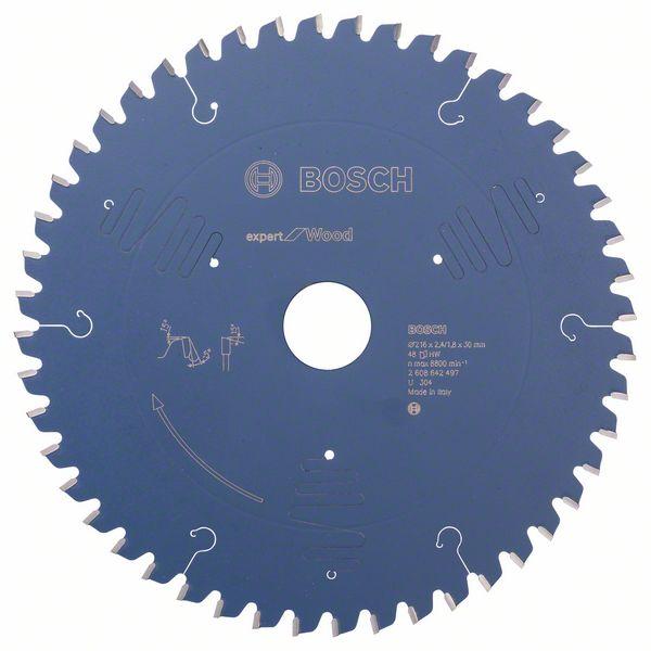 Bosch Expert for Wood-sirkelsagblad 216x30 48T