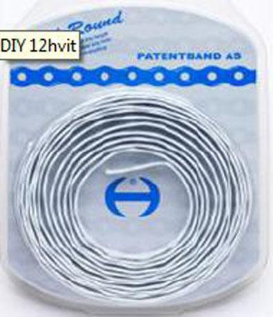 PATENTBAND AR12 3M HVIT